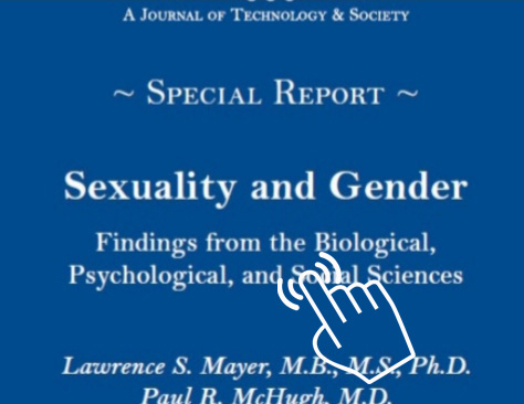 Sexuality & Gender - Dr. Paul McHugh. 2016 John Hopkins Medical Report on Transgenderism.