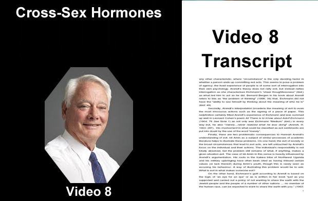 Mga Hormones sa Cross-Sex - Transcript