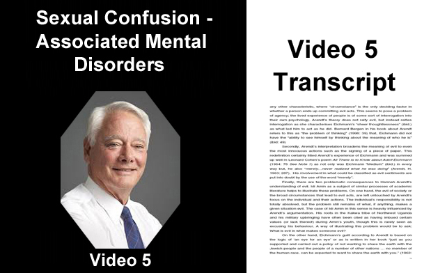 Sexual Confusion Mental Disorders - Transcript