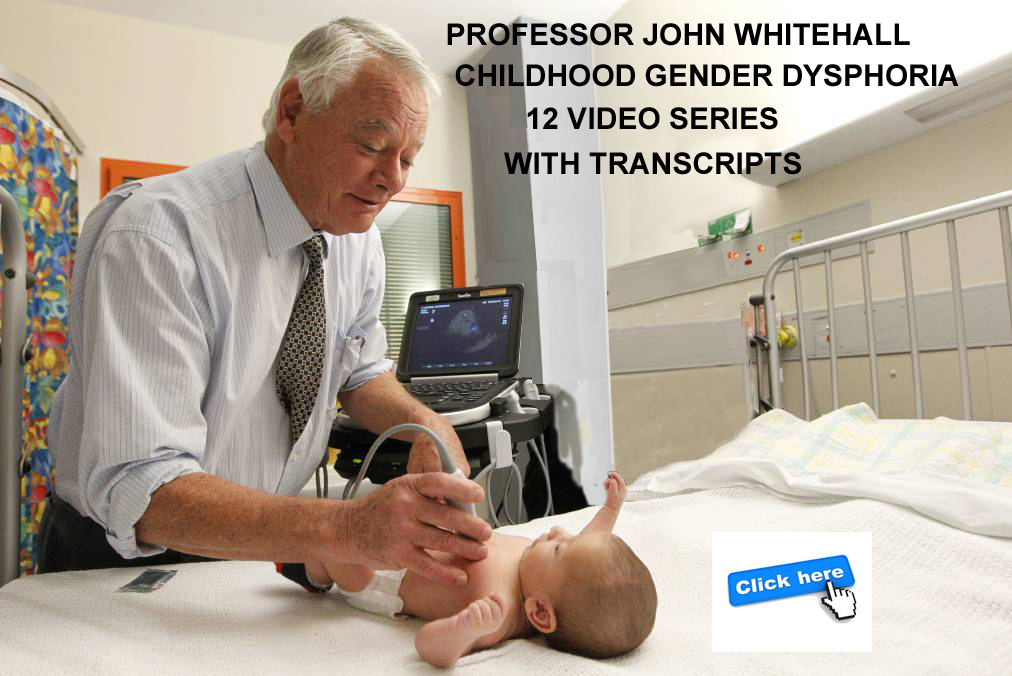 PROFESSOR JOHN WHITEHALL. CLICK TO WATCH or READ.