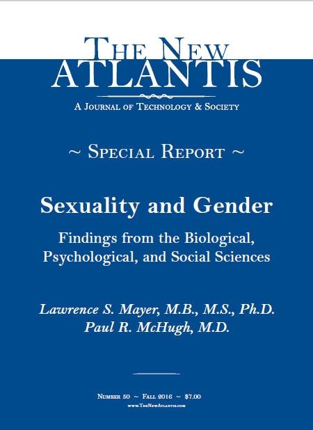 Сексуальність та стать - доктор Пол Макх'ю. 2016 р. Медичний звіт про трансгендерство Джона Хопкінса.