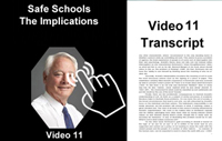 Childhood Gender - Safe Schools Implications_Vid_11_Transcript_Tap