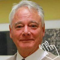 Prof John Whitehall _006 with Finger